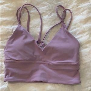 Lululemon light purple sport bra